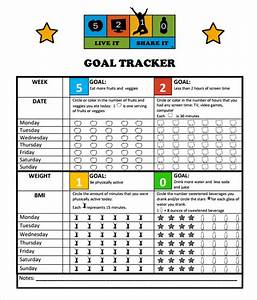 Goal Tracking Template Spreadsheet Free 9 Goal Tracking Samples In Pdf Excel