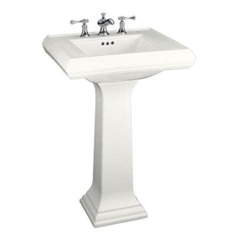 Kohler Bathroom Sinks Home Depot by Kohler Memoirs Classic Ceramic Pedestal Combo Bathroom