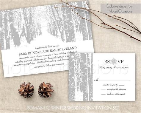 winter wedding invitation printable christmas wedding