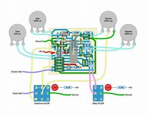 Perf And Pcb Effects Layouts  Grab  U0026 Gogo Delay  Overdrive