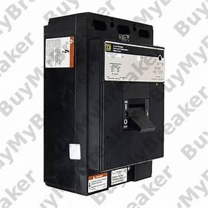 Square D Lcp36500 3 Pole 500 Amp 600v Circuit Breaker