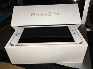 Bran New 3month Old Used Apple Iphone 6s Plus 128gb For
