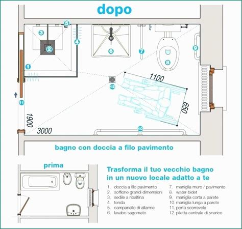 Bagno Handicap by Bagno Handicap Dwg E Dimensioni Bagno Disabili Misure