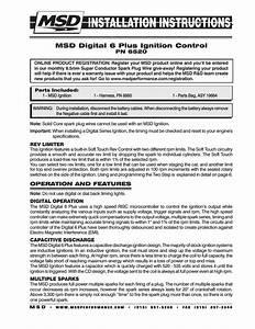 Digital 6-plus Ignition Control