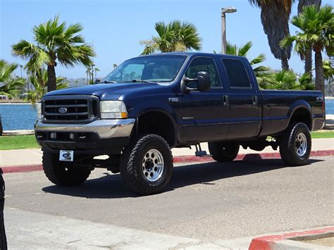 Ford Diesel Truck Mpg by 2002 Ford F 250 Xlt 7 3l Diesel Crew Cab 4 215 4 For Sale