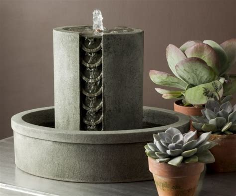 soothing indoor water features ultimate home ideas