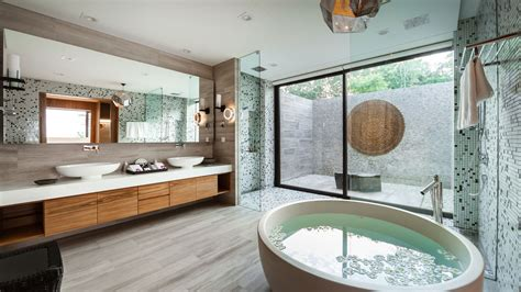 7 Villa Bathrooms With Spalike Ambience