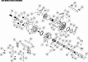 Ramsey Winch Powermaster 20000 Parts