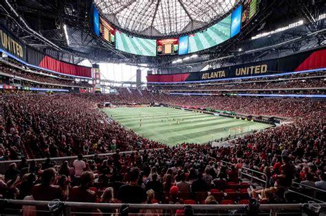 atlanta united  portland timbers mercedes benz stadium