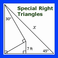 Multistep Special Right Triangles Practice I By Mental Math Tpt