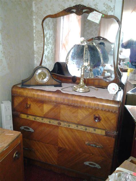 antique bedroom furniture 1930 antique vintage waterfall deco bedroom set 1920 s