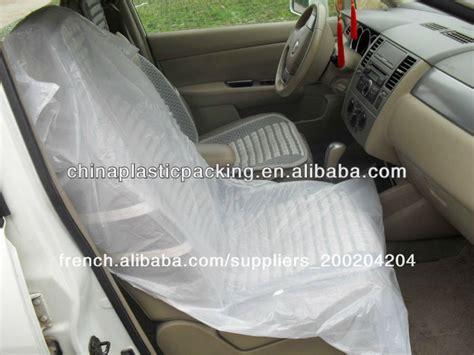 protection si e arri e voiture pe jetables ivoire voiture housse de siège capot de selle