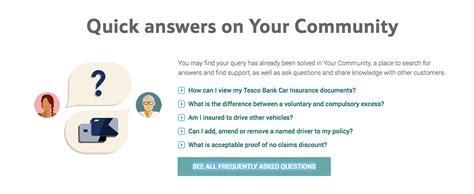 Tesco Car Insurance Customer Service