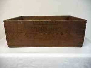 Vintage Grade 1 TNT Explosives Wooden Shipping Crate Box ...