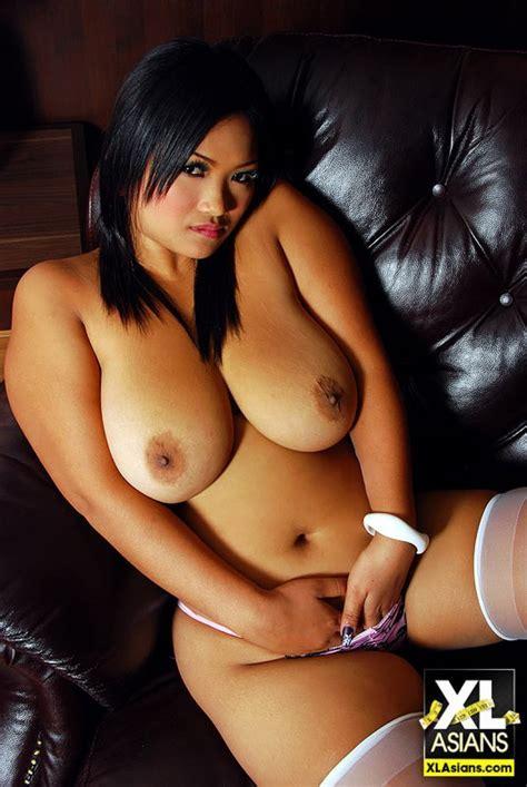 Busty Thai Girl Bam Shows Tits
