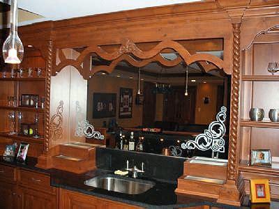 bar mirrors residential glass binswanger glass