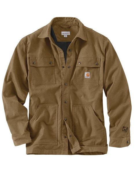 Rugged Work Clothes by Carhartt S Yukon Swing Duck Overland Shirt