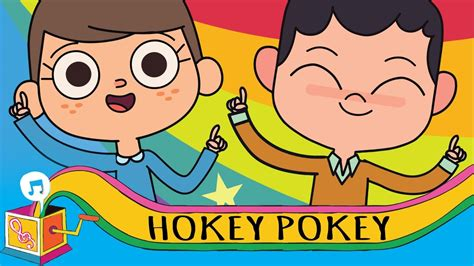 hokey pokey nursery rhyme karaoke youtube