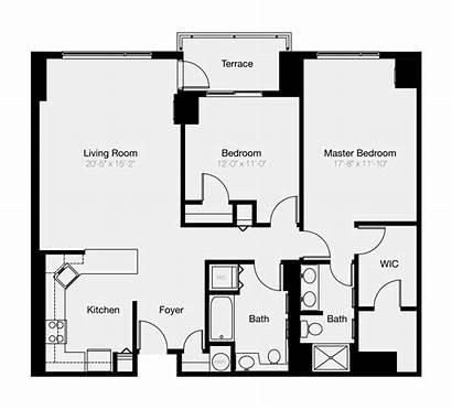 Bedroom Condos Philadelphia Condo Floor Plan Reliance