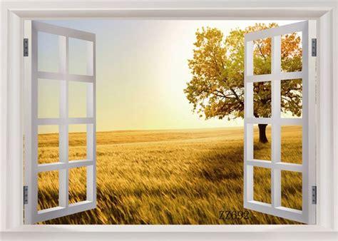 outdoor window scenery vinyl backdrop background