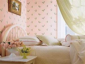 Decorative wall painting ideas for bedroom, pink and ...
