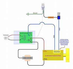 Treadmill Motor Controller Diagram