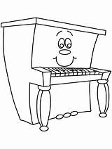 Piano Coloring Pages Advertisement Dibujos Para sketch template