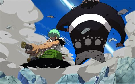 Zoro Vs Kuma From One Piece By Quasardesign90 On Deviantart