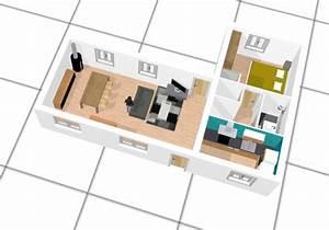 plan de maison a faire en ligne With logiciel plan maison 3d 14 comment dessiner un salon