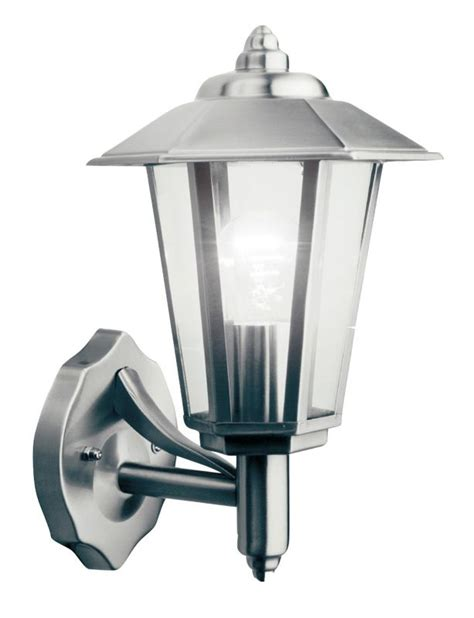 lights by b q newport outdoor wall light in stainless
