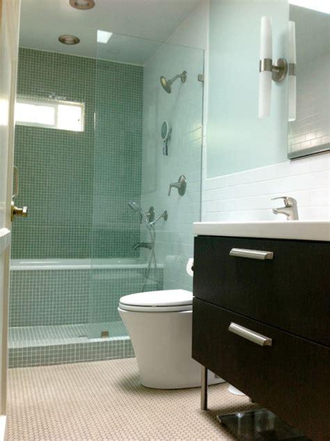 bathroom  japanese inspired showertub space