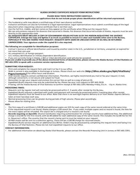 vital statistics form for divorce 2018 divorce verification form fillable printable pdf