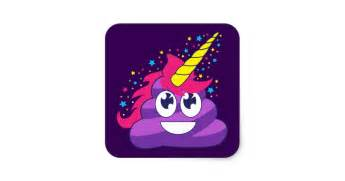 save the date baby shower pretty purple unicorn emoji square sticker zazzle