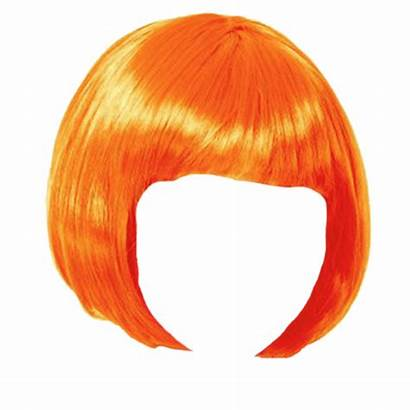 Wig Clipart Transparent Orange Bob Wigs Webstockreview