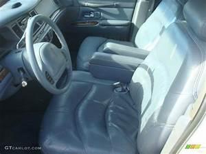 Slate Blue Interior 1997 Lincoln Town Car Signature Photo