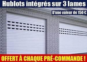 porte de garage avec volet roulant electrique sur mesure With porte de garage enroulable avec serrurier paris 17