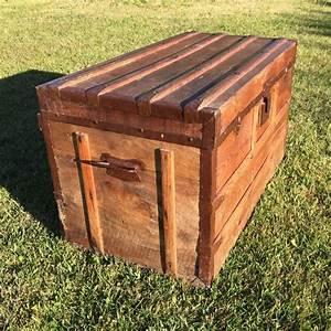 Malle En Bois : malle en bois oravis ~ Melissatoandfro.com Idées de Décoration