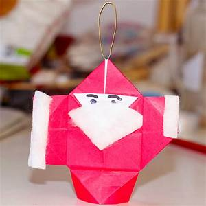 Pere Noel Decoration : d coration p re no l origami ~ Melissatoandfro.com Idées de Décoration