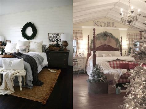 cozy christmas bedroom decor ideas interior god