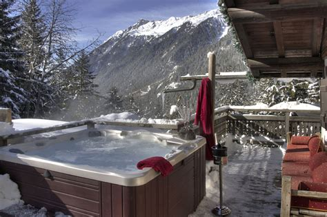 location chalet spa privatif chemin 233 e les jorasses hotel chamonix