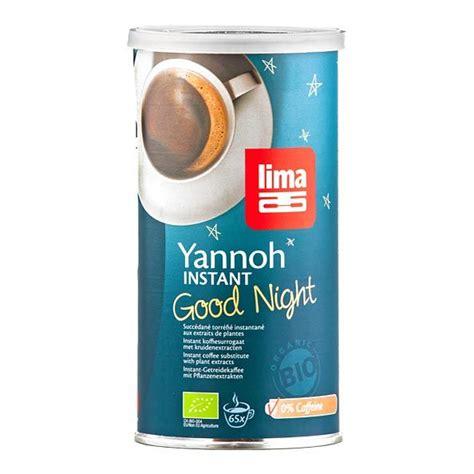 Lima ekologiskt Yannoh instant Good Night kornkaffe - nu3!