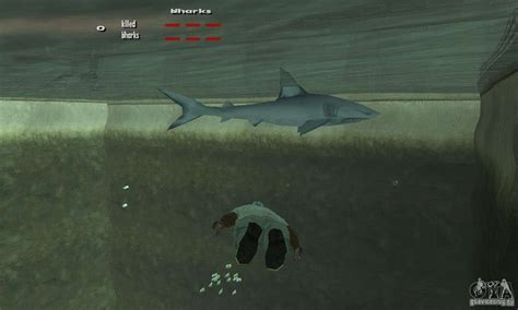 shark killer  gta san andreas