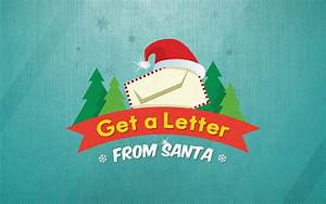 get a letter from santa on behance With get a letter from santa