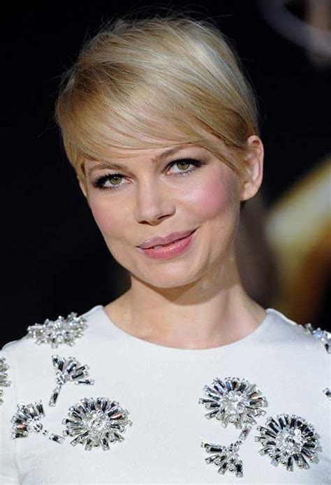 michelle williams pixie cuts short hairstyles