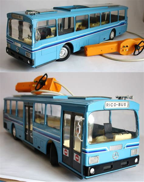 amazing ultra rare  mercedes benz  long bus rico spain rc vintage  mercedes benz