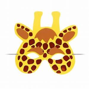 Giraffe Kostüm Kinder : kindermaske giraffe kinder tier maske kost m augenmaske fasching karneval ~ Frokenaadalensverden.com Haus und Dekorationen