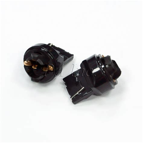 2x t10 194 921 base wedge t20 7440 transformer bulb socket