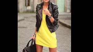 Moda verano 2015 - outfits vestido amarillo - YouTube