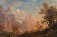 Albert Bierstadt Landscape Paintings