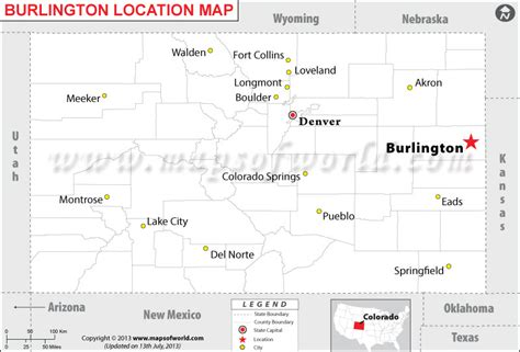 where is burlington colorado